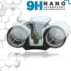 Panzerglassfolie Schutzfolie für BMW R Nine T Tacho Nano 9H Displayschutzfolie