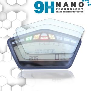 Panzerglassfolie Schutzfolie für Ducati Hyperstrada / Streetfigher / Hypermotard Tacho Nano 9H Displayschutzfolie