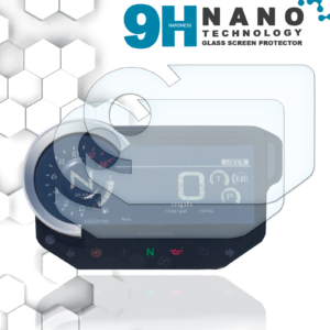 Panzerglassfolie Schutzfolie für Honda CB1000R 2018+ Tacho Nano 9H Displayschutzfolie