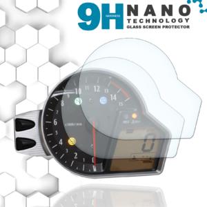 Panzerglassfolie Schutzfolie für Honda CBR1000RR SC59 2008+ Tacho Nano 9H Displayschutzfolie