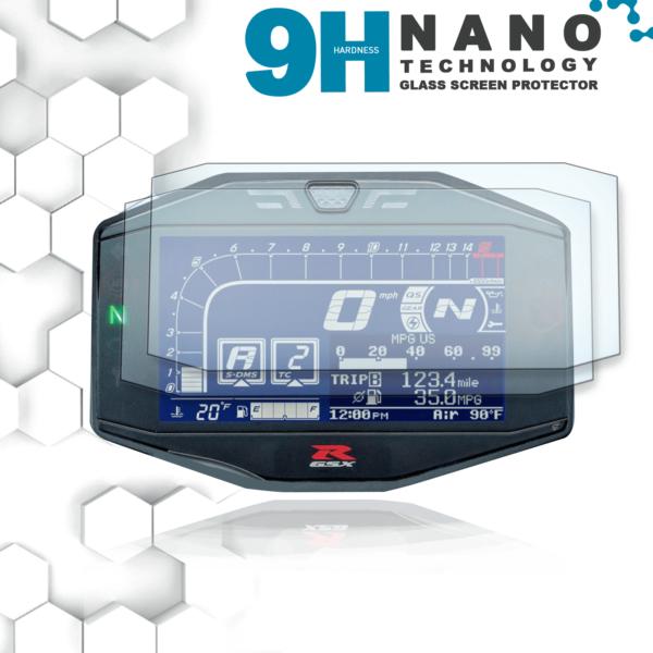 Suzuki GSXR 1000 L7 Nano 9H Displayschutzfolie