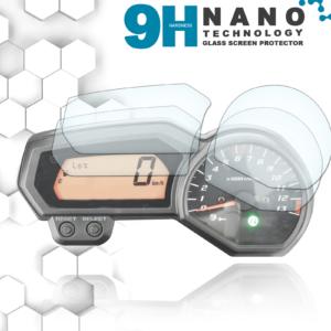 Panzerglassfolie Schutzfolie für Yamaha Fazer Tacho Nano 9H Displayschutzfolie