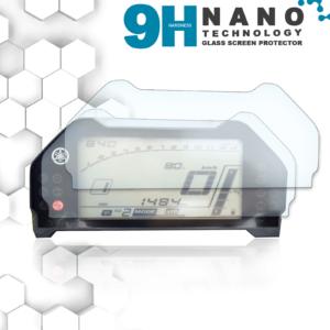 Panzerglassfolie Schutzfolie für Yamaha MT-10 / FZ-10 Tacho Nano 9H Displayschutzfolie