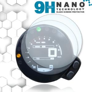 Panzerglassfolie Schutzfolie für Yamaha XSR 700/900 Tacho Nano 9H Displayschutzfolie
