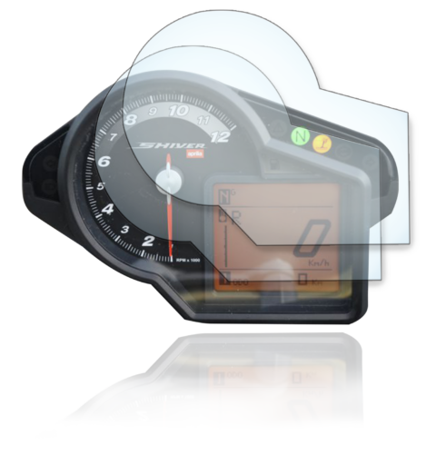 Aprilia Shiver 750 Tachoschutzfolie Displayschutzfolie -