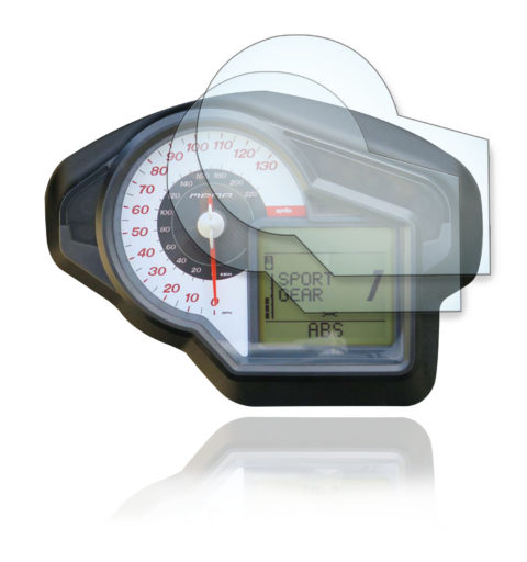 Aprilia Mana 850 GT Tachoschutzfolie Displayschutzfolie -