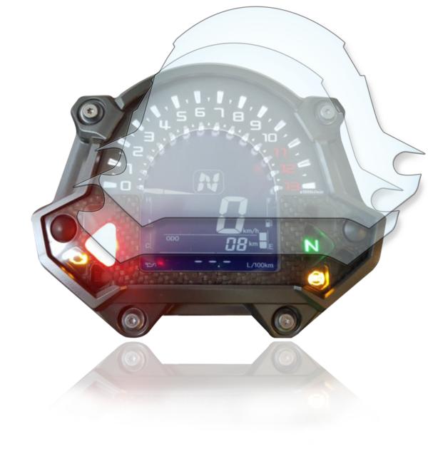 Kawasaki Z650 / Z900 Tachoschutzfolie Displayschutzfolie