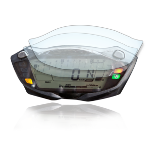 Suzuki GSX-S1000 / 750 SV650 Tachoschutzfolie Displayschutzfolie