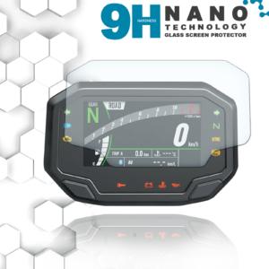 Kawasaki Z650 Z900 2020+ Nano 9H Displayschutzfolie