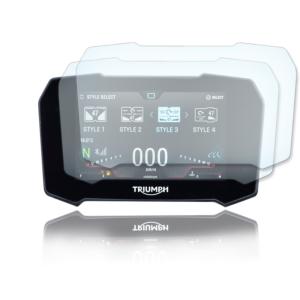 Panzerglassfolie Schutzfolie für TRIUMPH TIGER 900 GT / RALLY 2020+ Tacho 9H Nano Displayschutzfolie